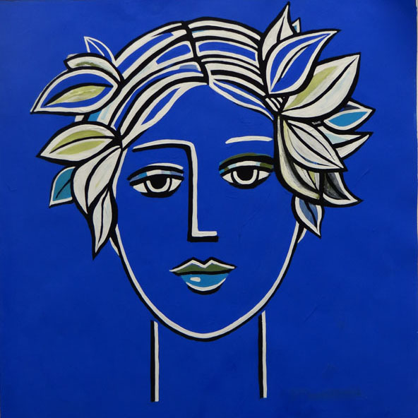 The Blue Nymph